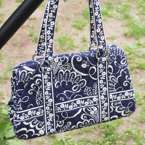 VGUC Vera Bradley Squared Away in Twirly Bird